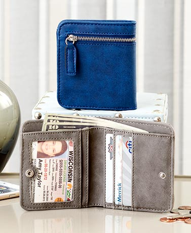 IDCredit Card RFID Compact Wallets