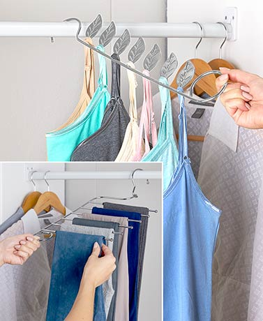 Space-Saving Closet Hanger Solutions