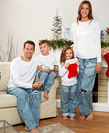 Family Knit Jean Lounge Pants