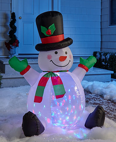 4-Ft. Light and Motion Holiday Inflatables