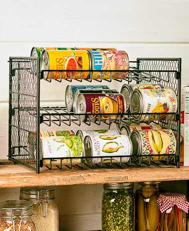 Farmhouse-Inspired Can Organizers