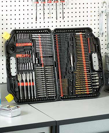 246-Pc. Drill Bit Set
