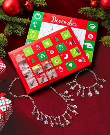 Christmas Advent Charm Calendar