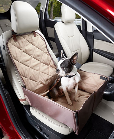 2-In-1 Bucket Seat Cover and Pet Car Seat