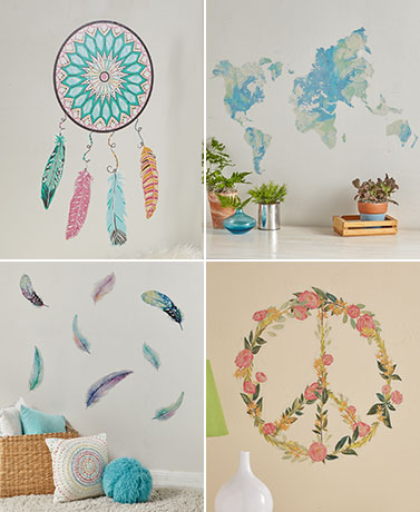 Peel and Stick Wall Art Decal Kits
