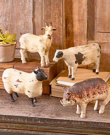 Farm Animal Sculptures