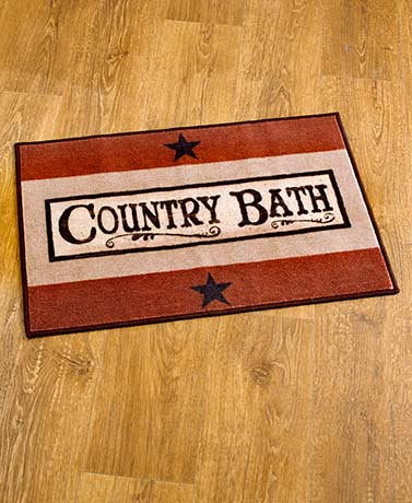 Country Bath Collection - Rug