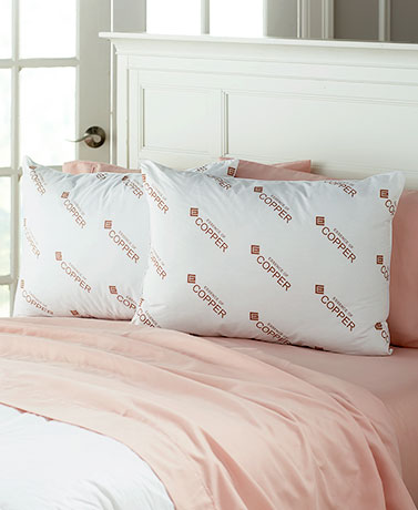 Essence of Copper Jumbo Pillow