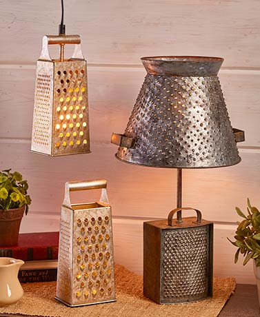 Rustic Farmhouse Lamp Collection