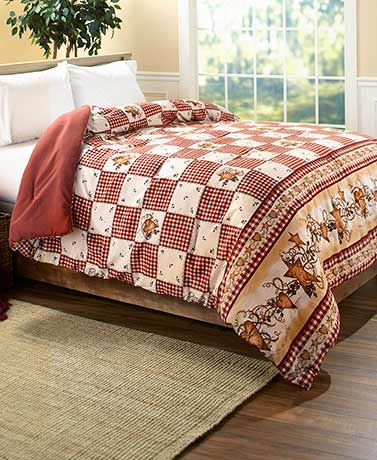 Linda Spivey Hearts and Stars Bedroom Ensemble - Comforters