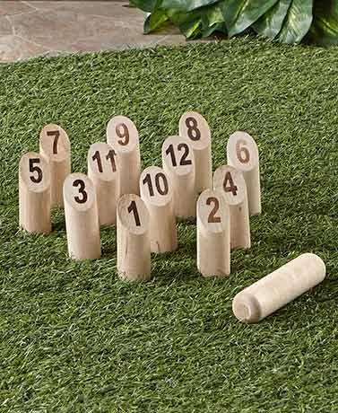 Molkky® Outdoor Wood Strategy Game