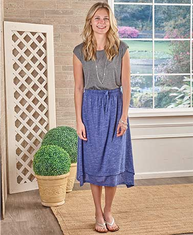 Easy-Going Knit Skirts
