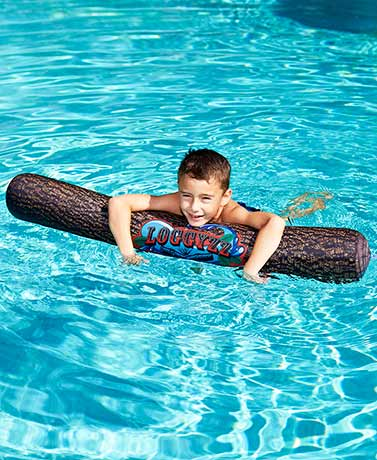 Log Jam Inflatable Log Pool Float