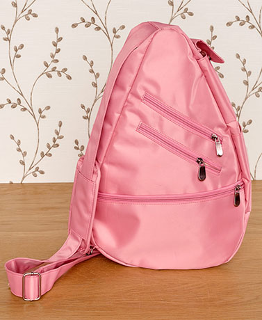 Lightweight CrossbodySling Organizer Bag - Blush