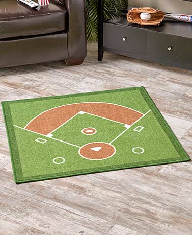 Sports Field Accent Rugs
