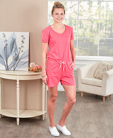 Women's Comfy T-Shirt Rompers