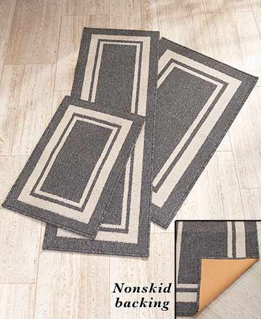Nonskid Accent Rugs or Runners