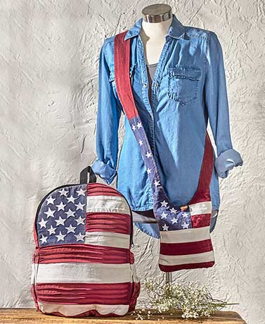 Americana Distressed Bag Collection