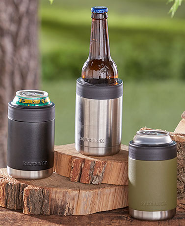Roughneck Stainless Steel Can Coolers