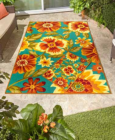 Decorative Outdoor Rug Collection