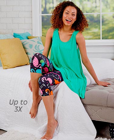 Tunic and Leggings Sleep Sets