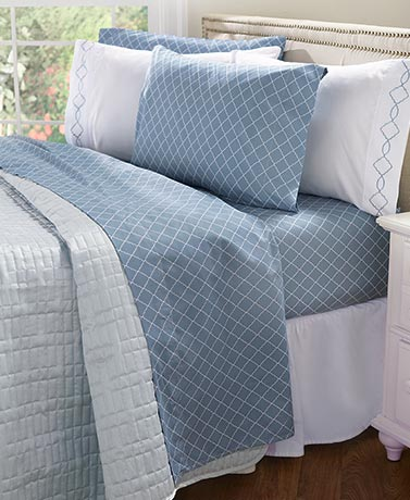 6-Pc. Bonus Pack Sheet Sets - Slate Blue