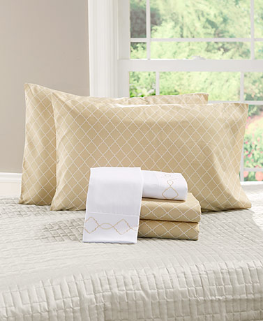 6-Pc. Bonus Pack Sheet Set - Beige