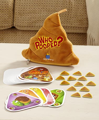 Who Pooped? Family Card Game