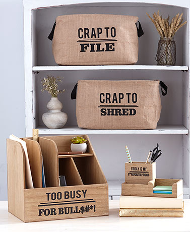 Humorous Office Organizers