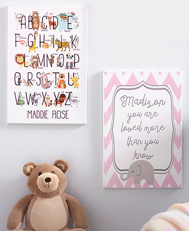 Personalized Baby Room Decor Wall Art