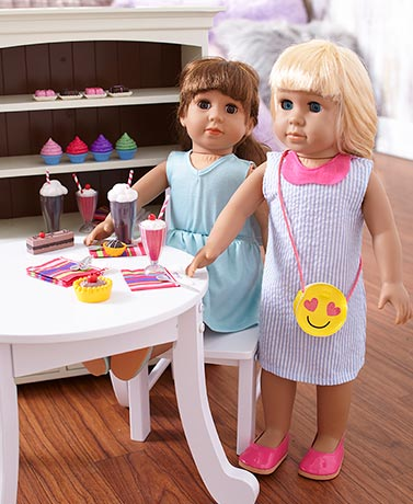 "18"" Doll Spring Outfit or Soda Shop Accessory Sets"