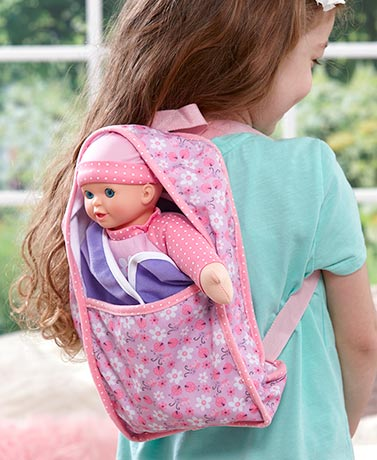Little Darlings™ Backpack Baby Doll
