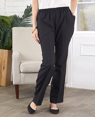 Women's Easy-Fit Pull-On Pants