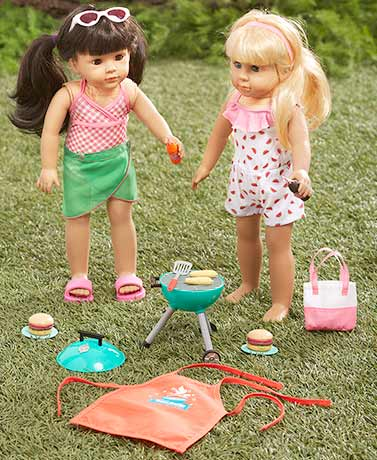 "18"" Doll Summer Fun Outfit or Accessory Sets"