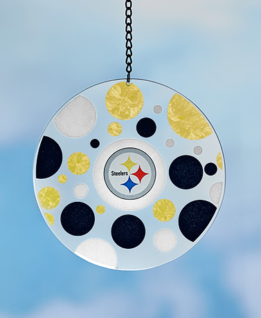 NFL Art Glass Sun Catchers