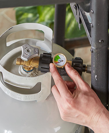 Outset® Gas Meter