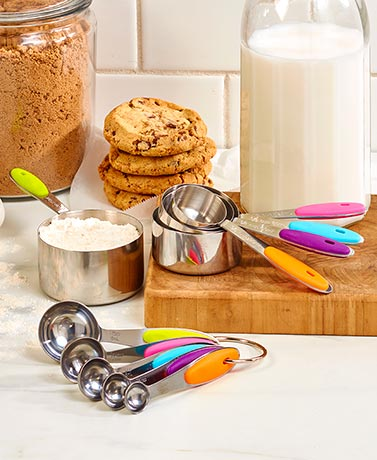 Stainless Steel Measuring Cups or Spoons