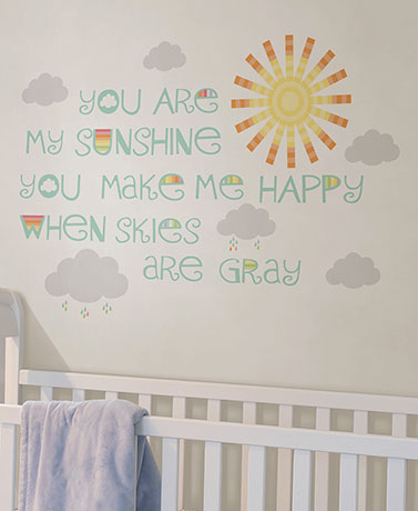 Brewster™ Nursery Wall Sentiments
