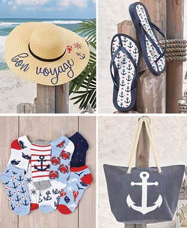 Let's Get Nautical! Fashion Accessory Collection