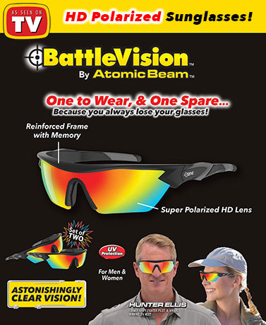 Battle Vision™ by Atomic Beam® 2-Pack