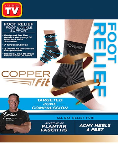 Copper Fit® Foot Relief