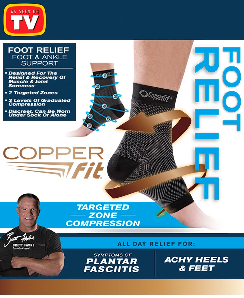 457332a3dc Copper Fit® Foot Relief | As Seen On TV | LTD Commodities