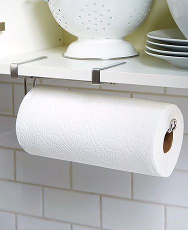 Over-the-Cabinet Paper Towel Holders