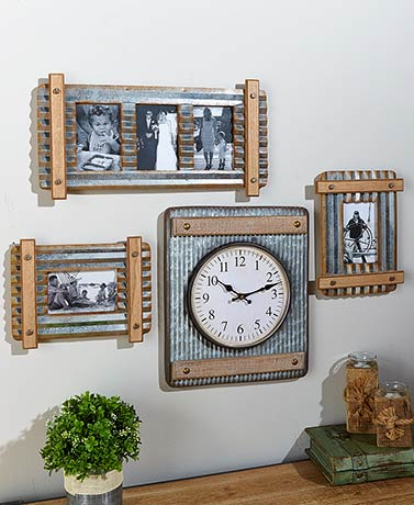 Farmhouse Industrial Decorative Accents