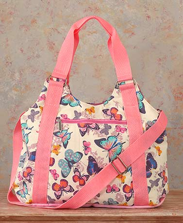 Canvas Butterfly Organizer Handbags