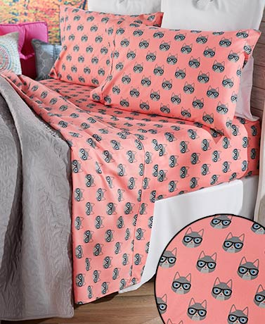 Novelty Animals Printed Sheet Sets