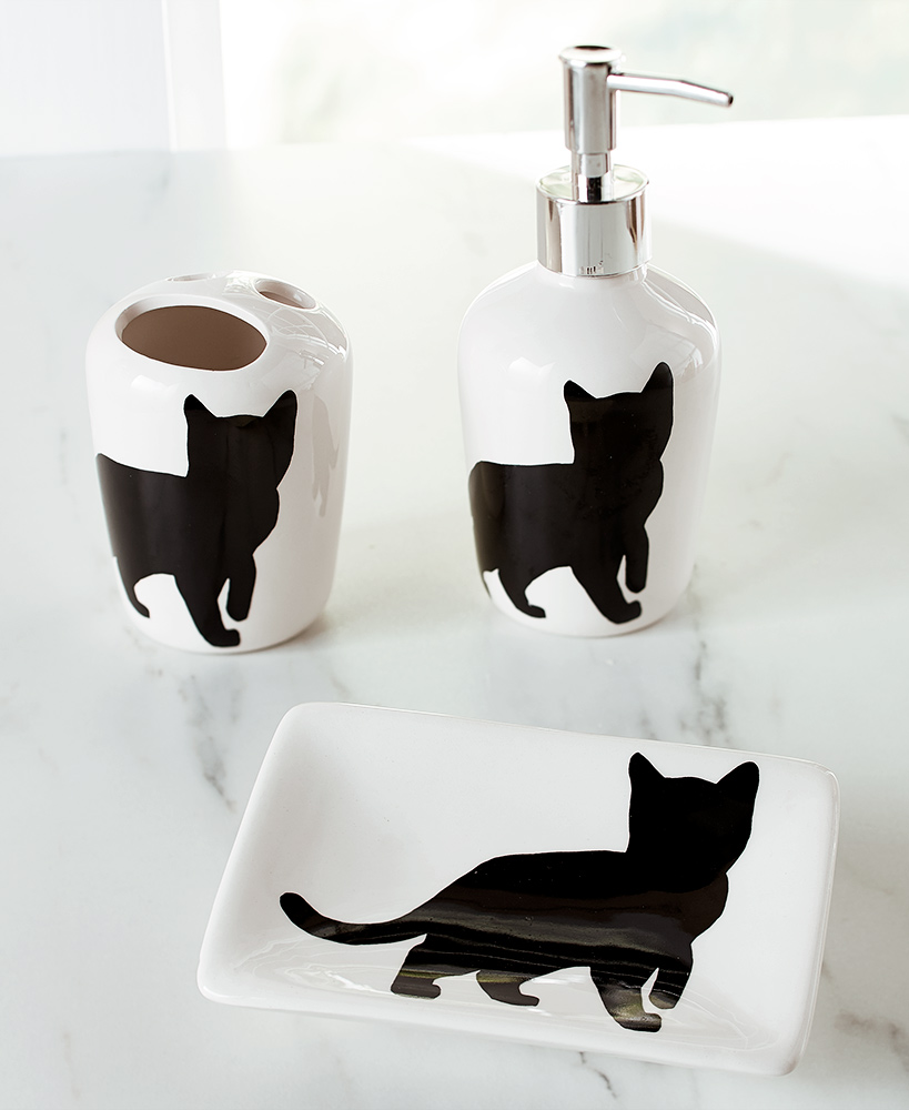 Crazy for Cats Bathroom Collection | LTD Commodities