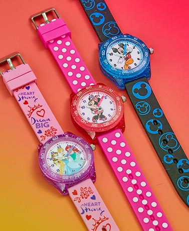Kids' Licensed Time Teacher Watches