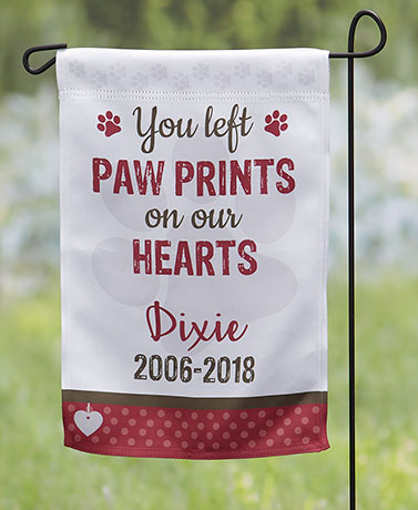Pet Personalized Double-Sided Memorial Flag