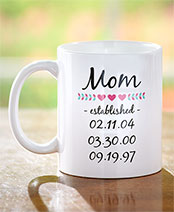 Personalized Established Mugs